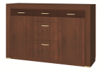 WIENA walnut chest of drawers 2d3s