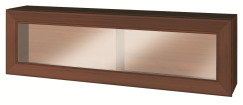WIENA walnut hang cabinet 1w