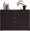 GRESS Wenge chest of drawers 2d4s