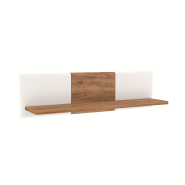 CANDY craft oak dark / white shelf 135