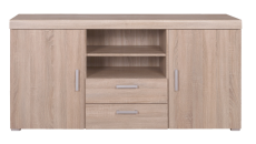 DAMIS Oak sonoma chest of drawers 2d2s