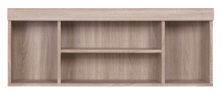 DAMIS Oak sonoma hang bookcase